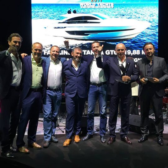 Fairline Targa 63 GTO стала обладателем награды World Yacht Trophies 2017.