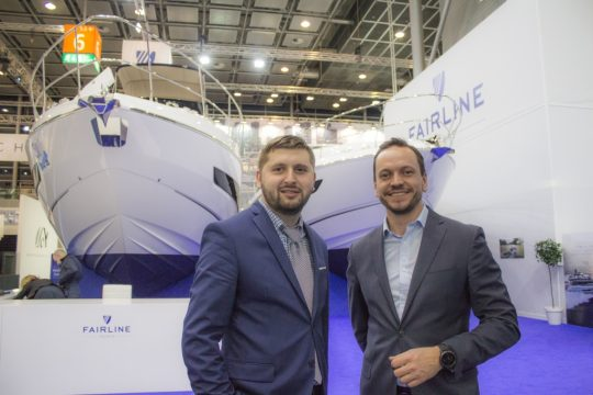 Fairline Russia на выставке Boot Dusseldorf 2018
