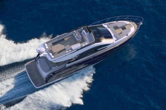 Fairline Yachts на Genoa Boat Show 2018