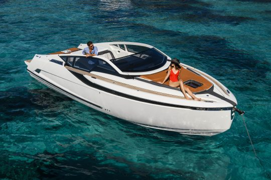 Яхта Fairline F-Line 33 | ID: 39
