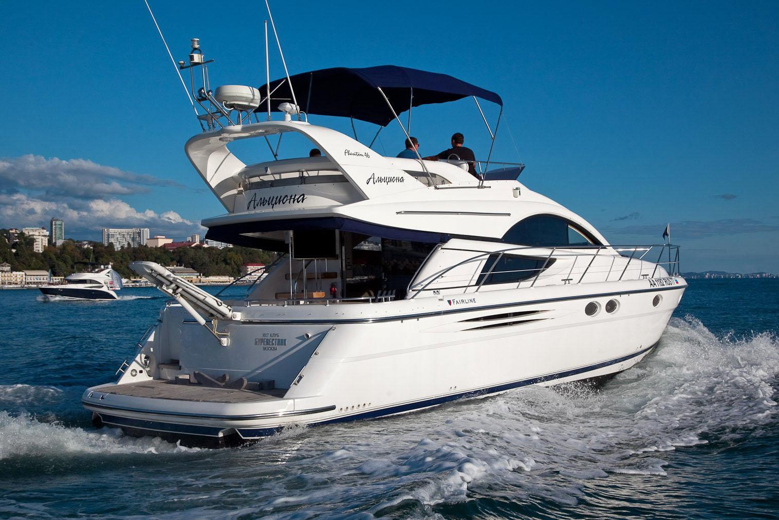 Яхта Fairline Phantom 46 | ID: 14365