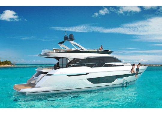 Премьера яхты Squadron 68 на Cannes Yachting Festival 2019