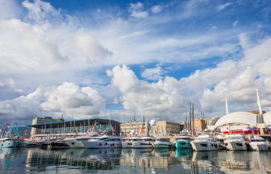 Fairline на Genoa International Boat Show 2019