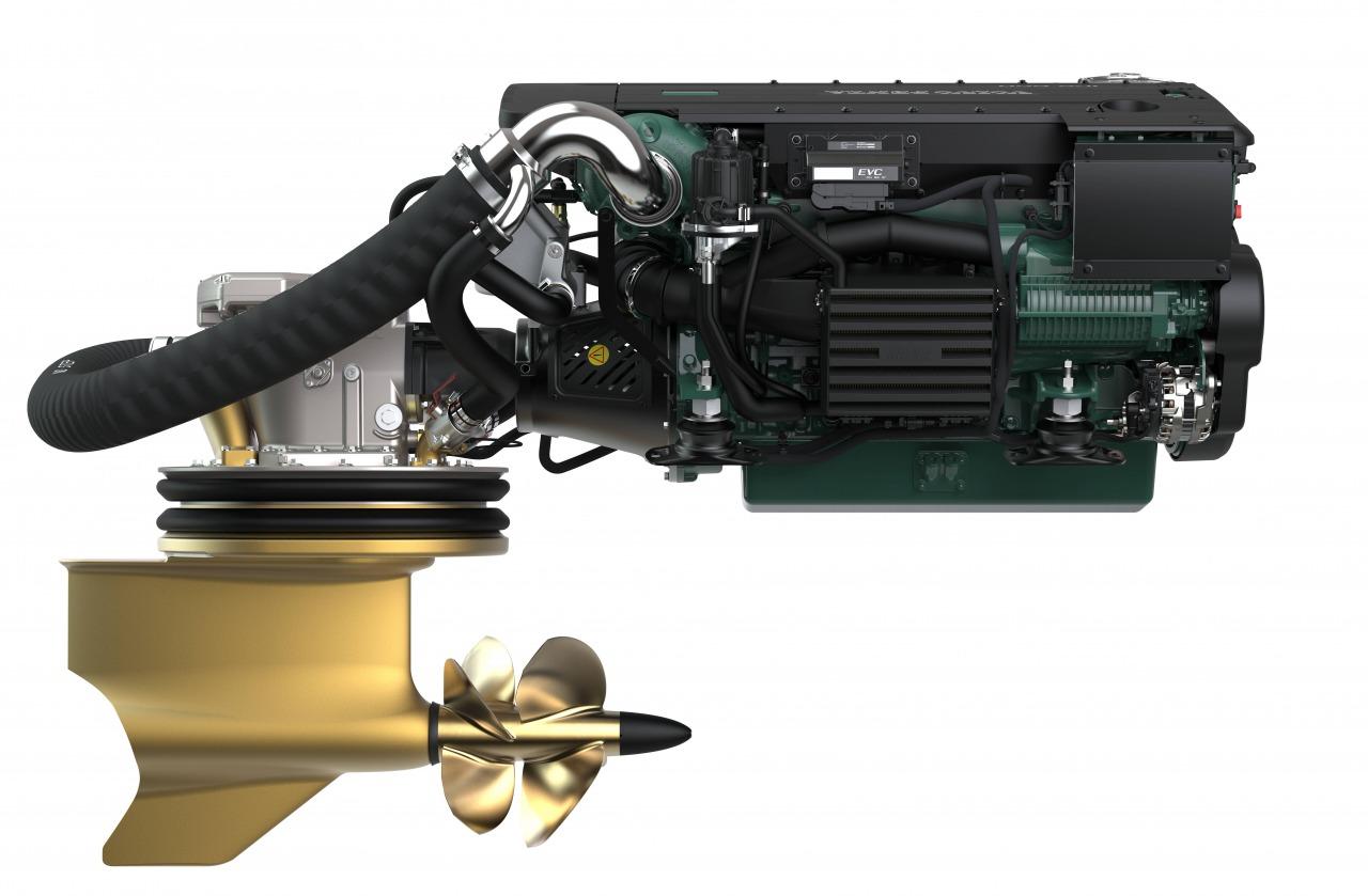 Targa 45 GT (501)   Дизельные двигатели Volvo Penta c колонками IPS