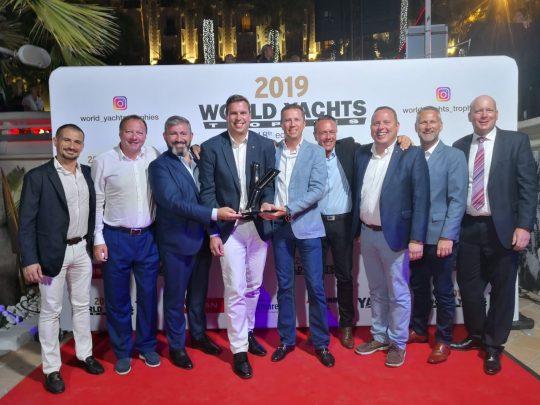 Хет-трик от Fairline на престижной премии World Yachts Trophies 2019