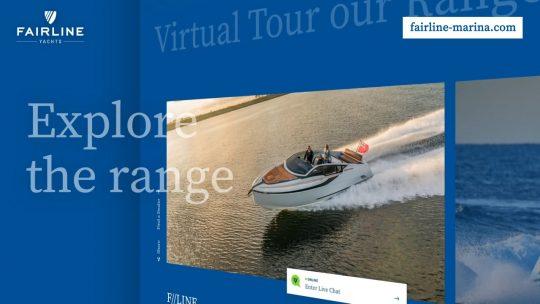 Открытие виртуальной марины Fairline