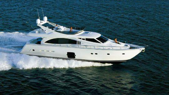 Продажа моторной яхты Ferretti 731 2005