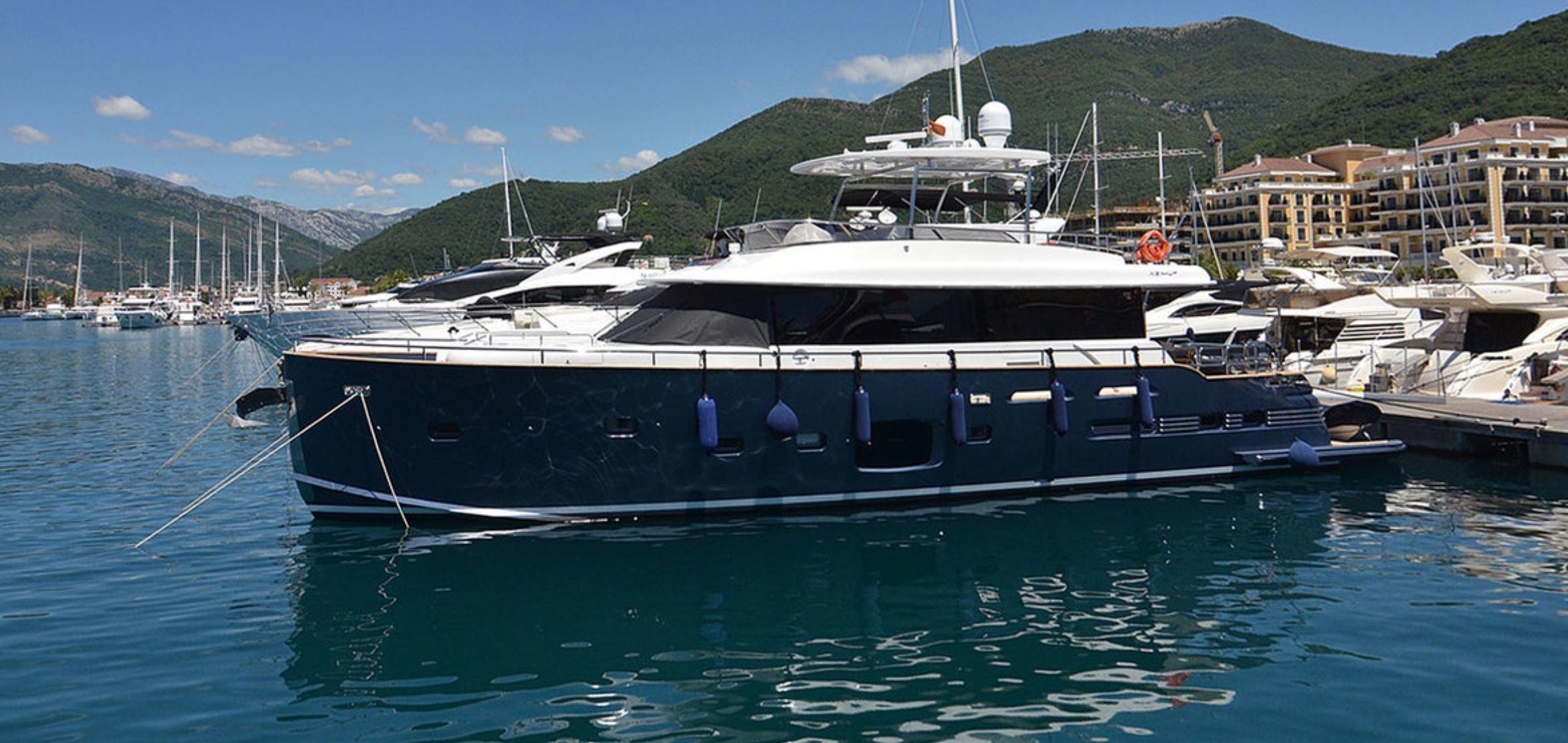 Яхта Azimut Magellano 76 | ID: 20504