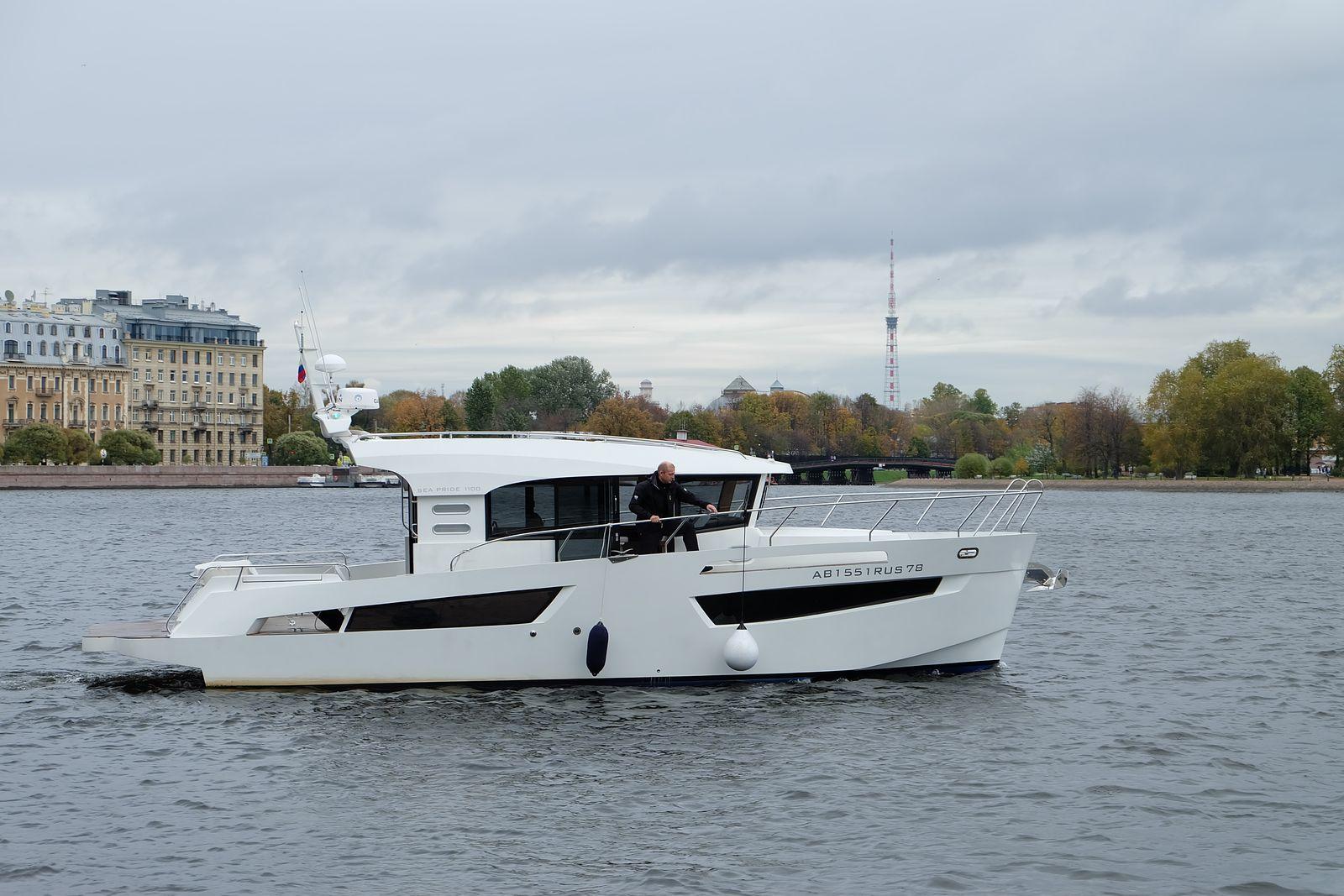 SEA PRIDE 1100 | Комфортное управление