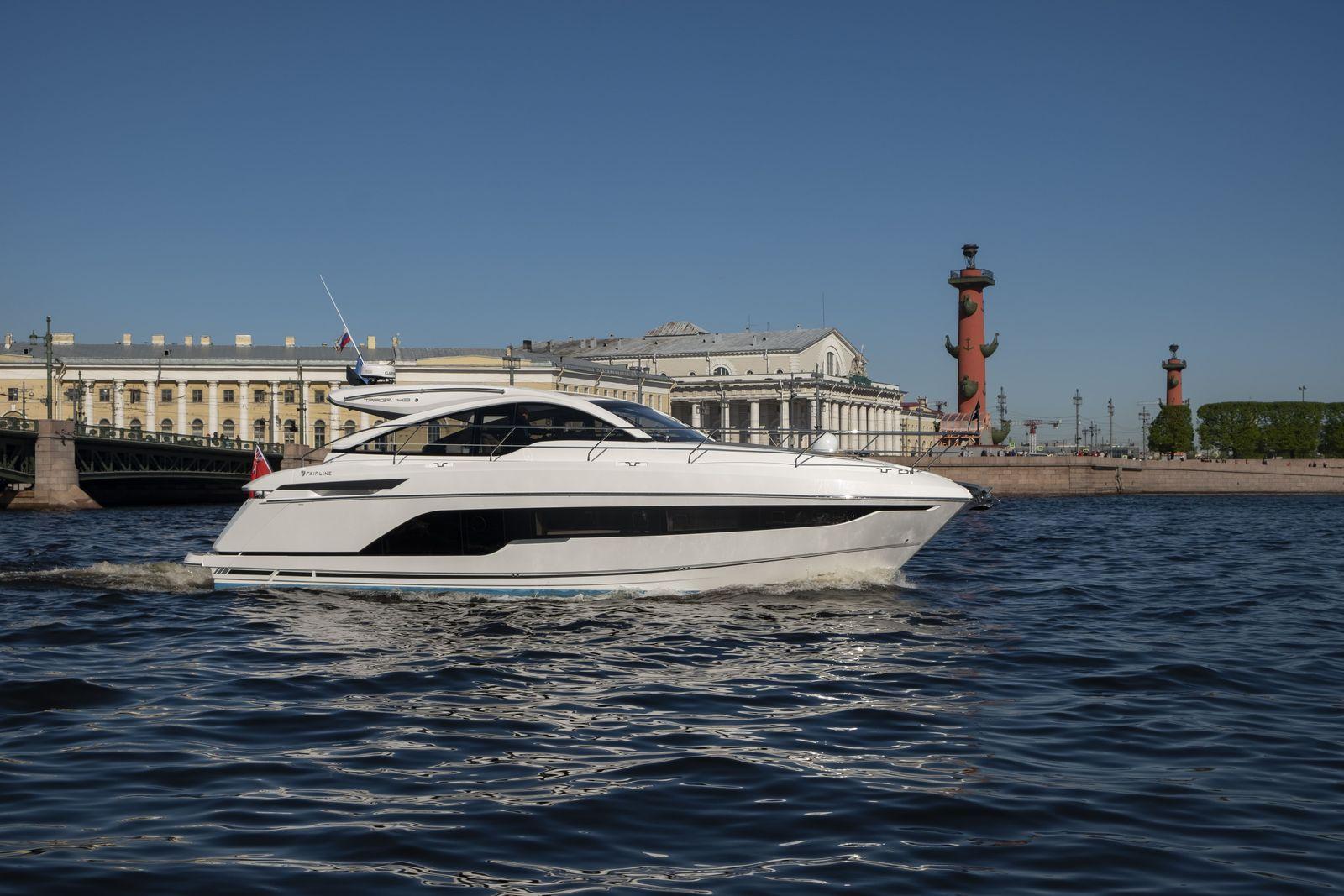 Яхта Fairline Targa 43 Open | ID: 21266