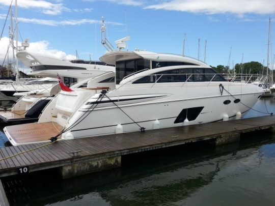 Яхта Princess V52 (2014) | ID: 21872
